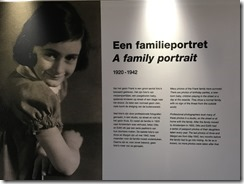 Anne Frank Example of Display Photos
