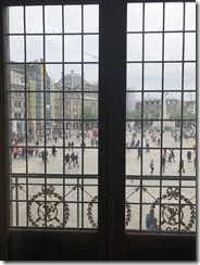 Dam Sq. View Out Royal Pal. Window