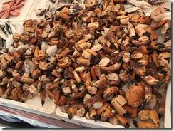 Stone Crabs at Market