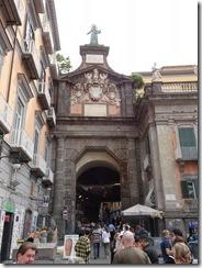 Naples Historic area - city gate