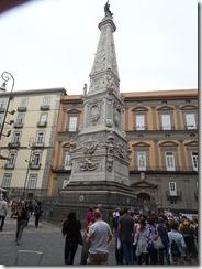 Naples Historic area - piazza san domeinico maggi