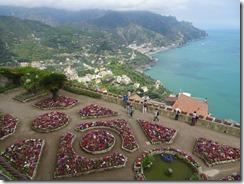 Villa Rufolo view and garden
