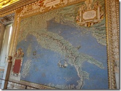 map room Italy