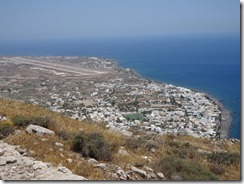 Ancient Thira view