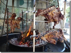 Anogeia meat cooking