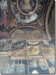 Bucharest Kretulescu church ceiling