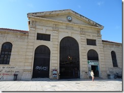 Chania covered market