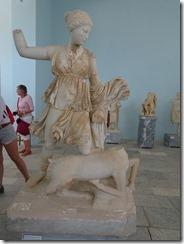 Delos Artemis killing a deer