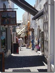 Fira alleyway