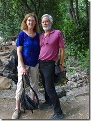 Joyce and Tom im Athens park