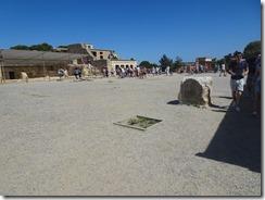 Knossos central court