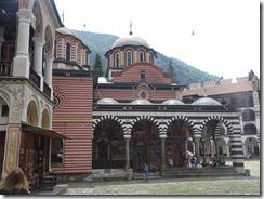 Rila Monastery chapel