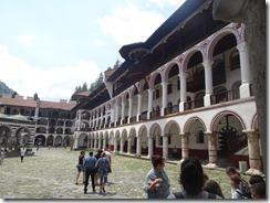 Rila Monastery courtyard 01