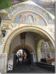 Rila Monastery gate
