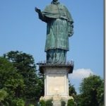 Arona bronze statue of St. Charles Borromeo