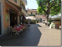 Stressa cobblestone streets
