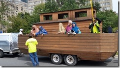 Toronto parade float