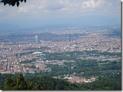 Turin - Basilica di superga view