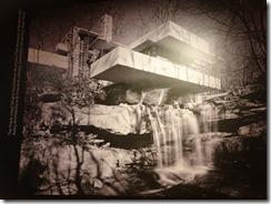 Turin - Pinacoteca Giovanni e Marella Agnelli (Fiat) - Frank Lloyd Wright Falling Water