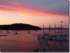 Bar Harbor sunset 02
