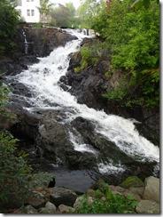 Camden waterfall in town