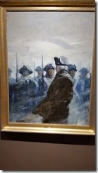 NC Wyeth Washington Reviewing his troops
