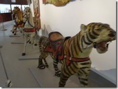 Shelbourne Museum old carousel rides