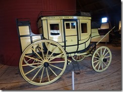 Shelbourne Museum round barn carriage