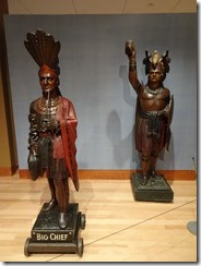 Shelburne Museum Indian carvings