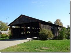 Shelburne Museum covered bridge