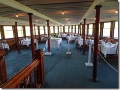 Ticonderoga ship dining room