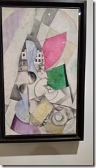 Chagall - Cubist Landscape