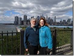 Joyce and Tom in Brooklyn Promenade