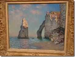 Monet, The Cliffs at Etretat