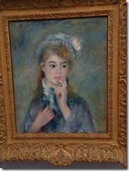 Renior - Portrait of the Young Woman