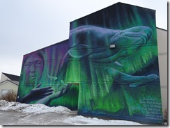 Churchill mural