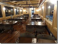 tundra buggie dining room