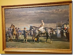 Munnings - AFter the race