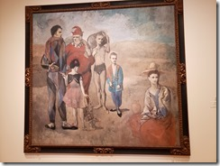 Picasso - Family of Saltimbanques