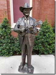 Ryman statue
