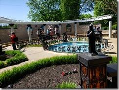 Elvis memorial garden