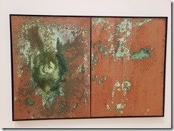 Oxidation Painting with urine