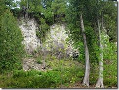 •Peninsula State Park cliffs