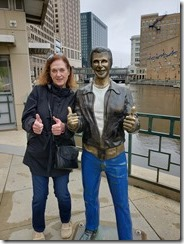 Joyce and The Fonz