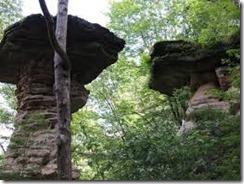 stand rock Wisconsin Dells