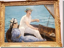 Manet - boating