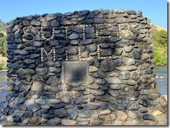 Coloma plaque where sutter mill was originally locatred