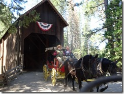 Wawona - History Center covered bridge