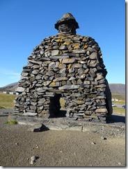 Arnarpatapi stone monument to Bardur Snaefellsas