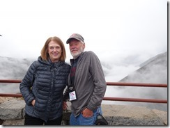 Beartooth Highway Joyce and Tom at viewpoint